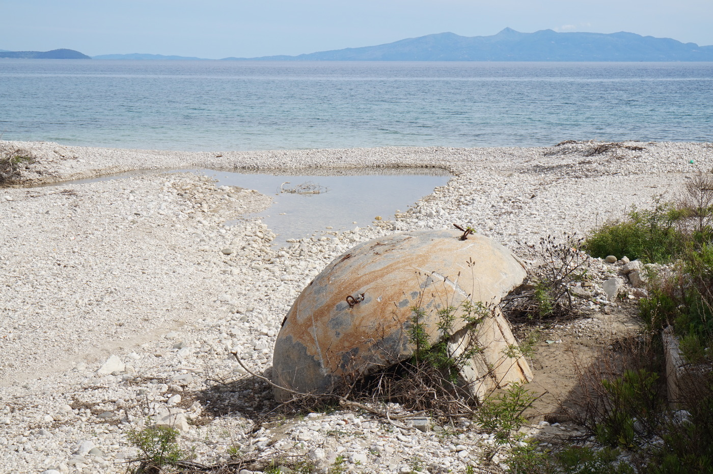 Bunker de Qeparo en Albanie