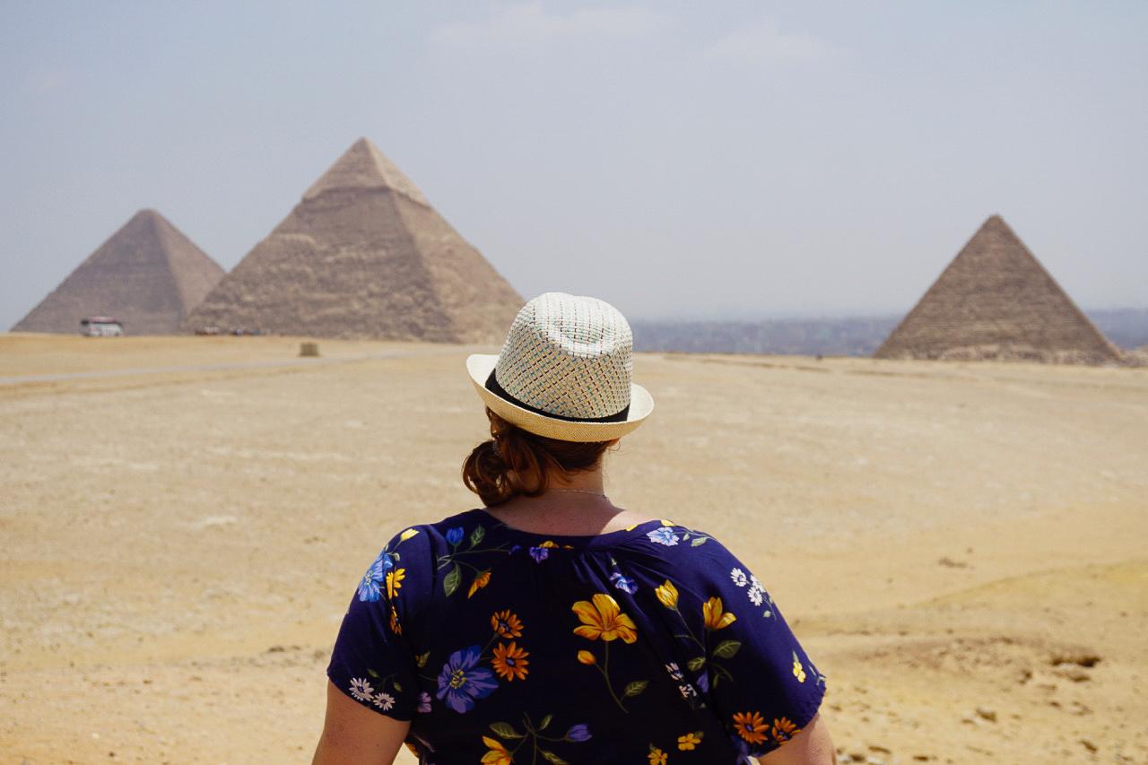 Pyramides d'Égypte - Mc Globetrotteuse