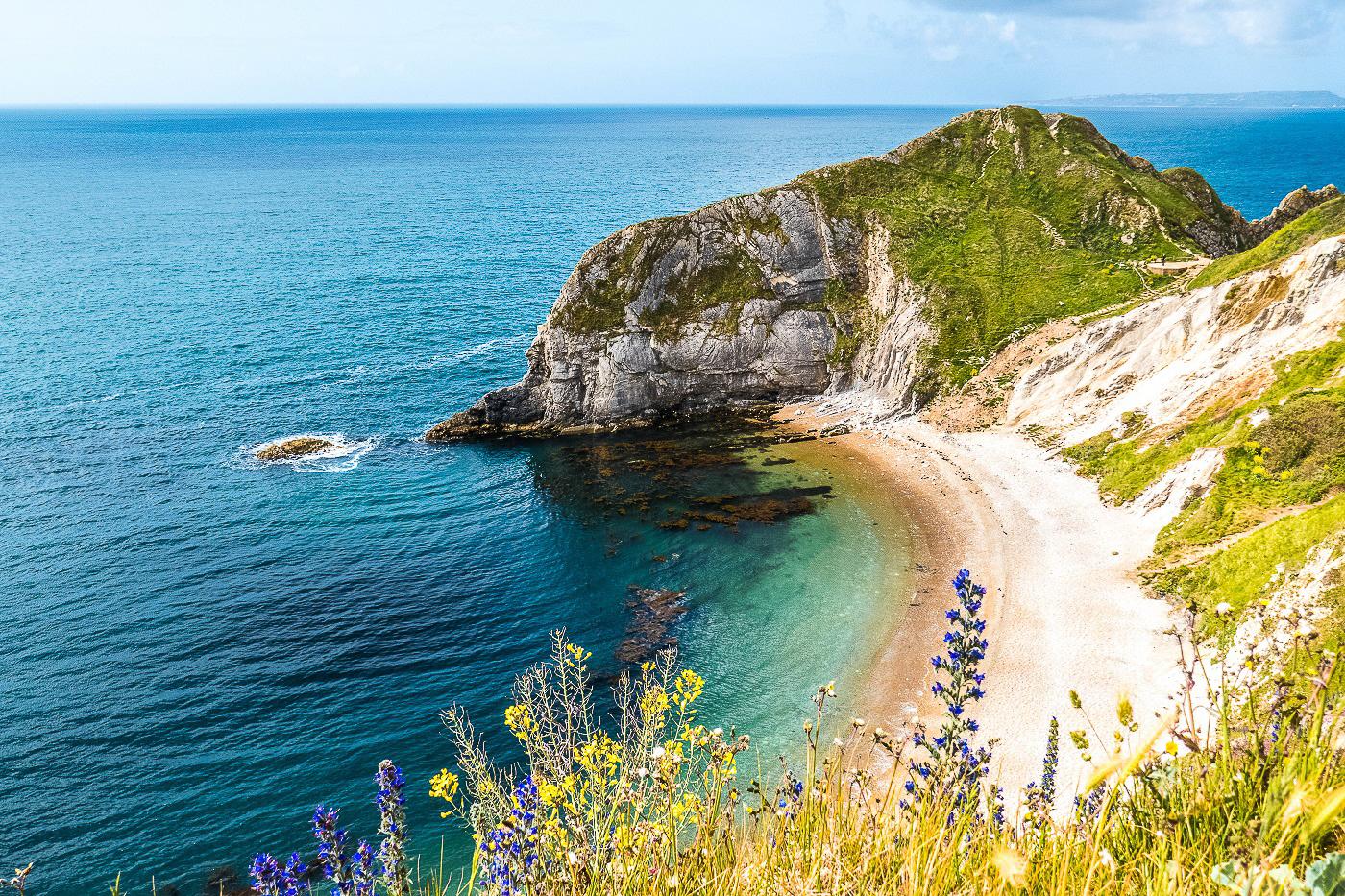 Sentier côtier du sud de l'Angleterre - On Holidays Again