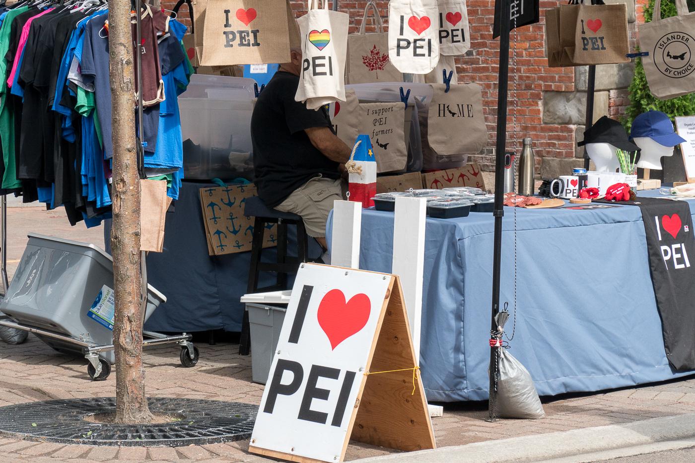 Affiches I love PEI - Marché de Charlottetown