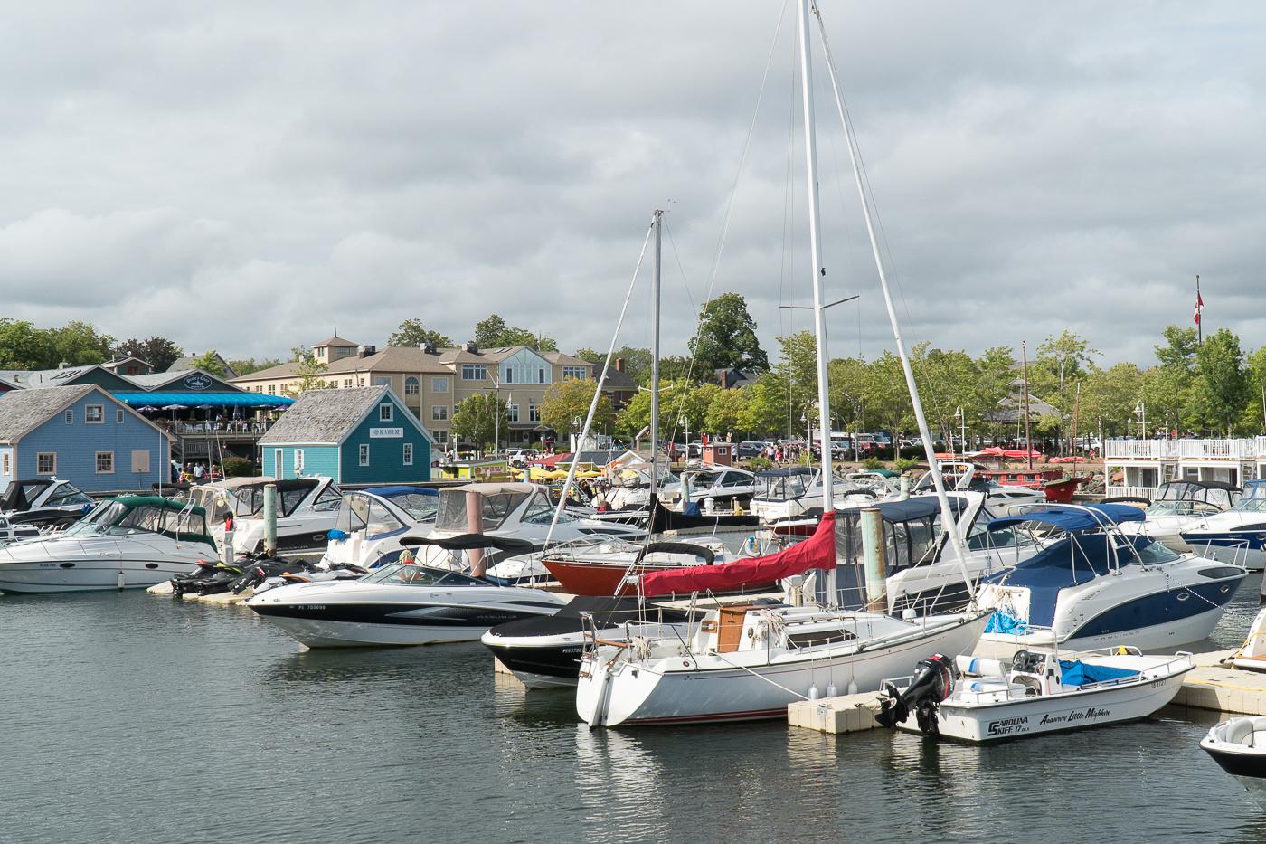 Bateaux au port de Charlottetown