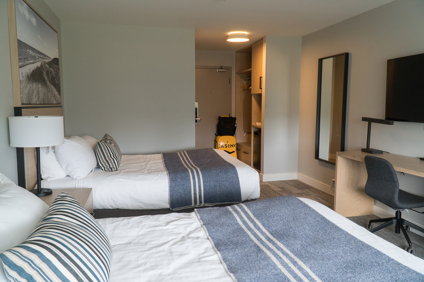Chambre double au MIll River Resort