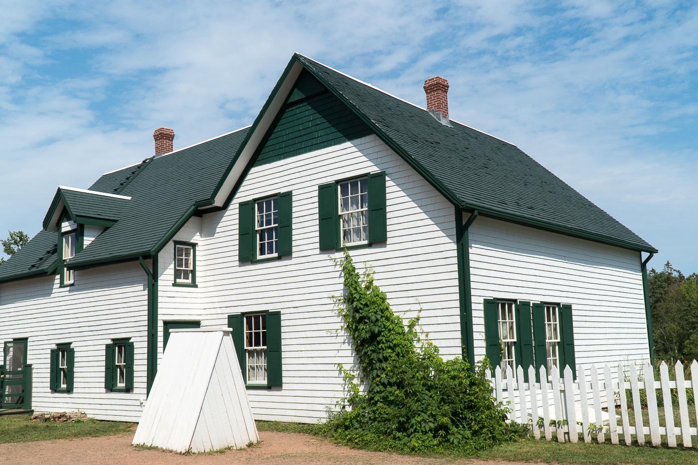 Maison d'Anne et la maison aux pignons verts - Centre de visite Green Gables - voyage à l'Île-du-Prince-Édouard