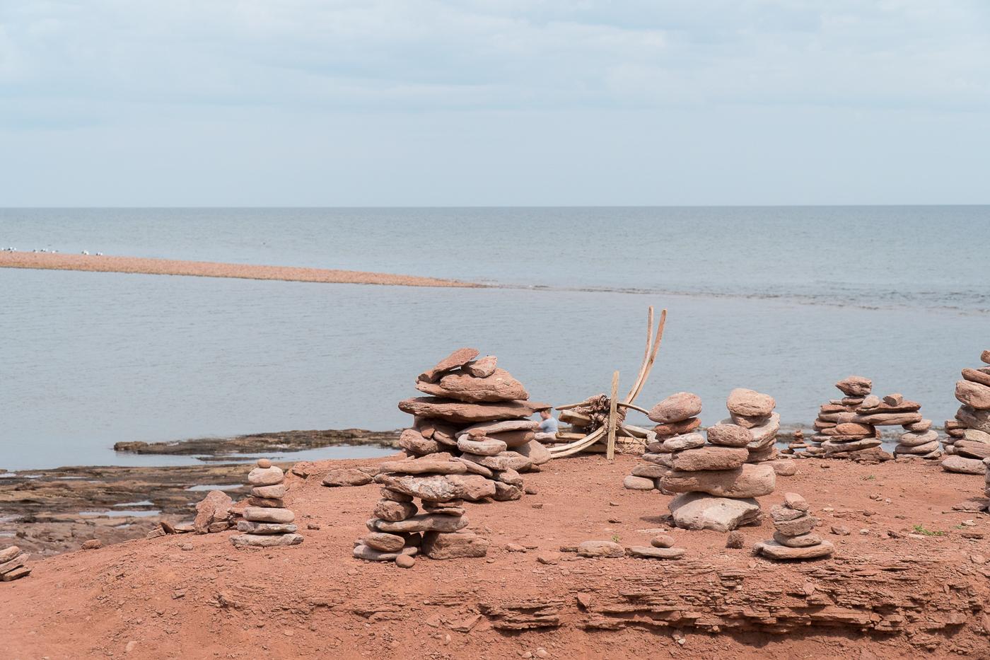 North Cape Interpretive Centre - Rencontre des marées