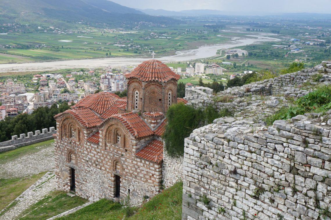 Paysage de vacances à Berat
