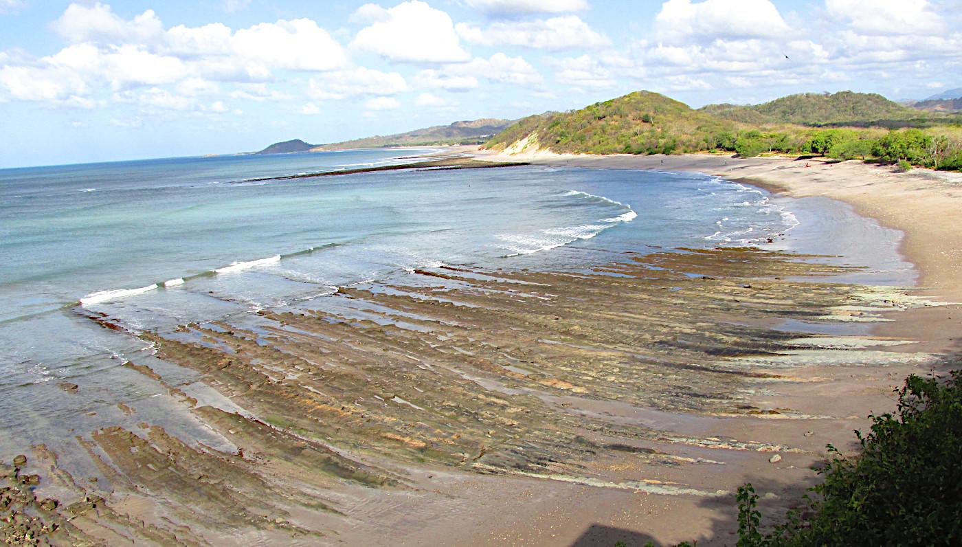 plage du Nicaragua par Vagabondeuse