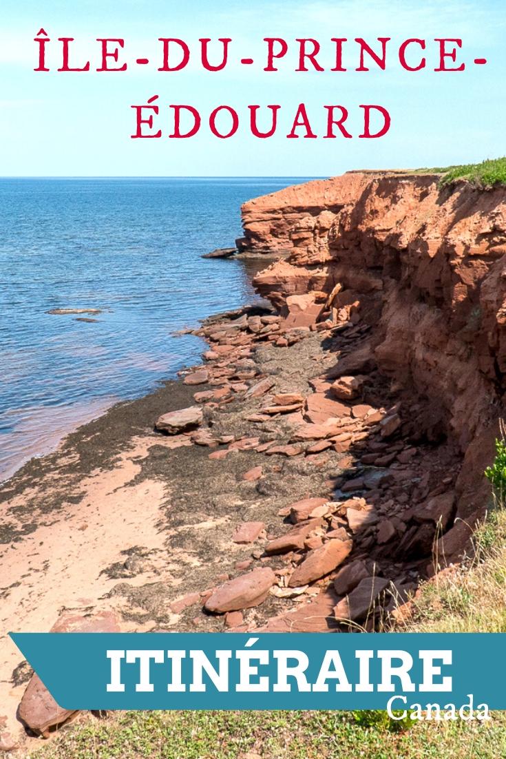 Itinéraire voyage à l'Île-du-Prince-Édouard - PEI, Canada