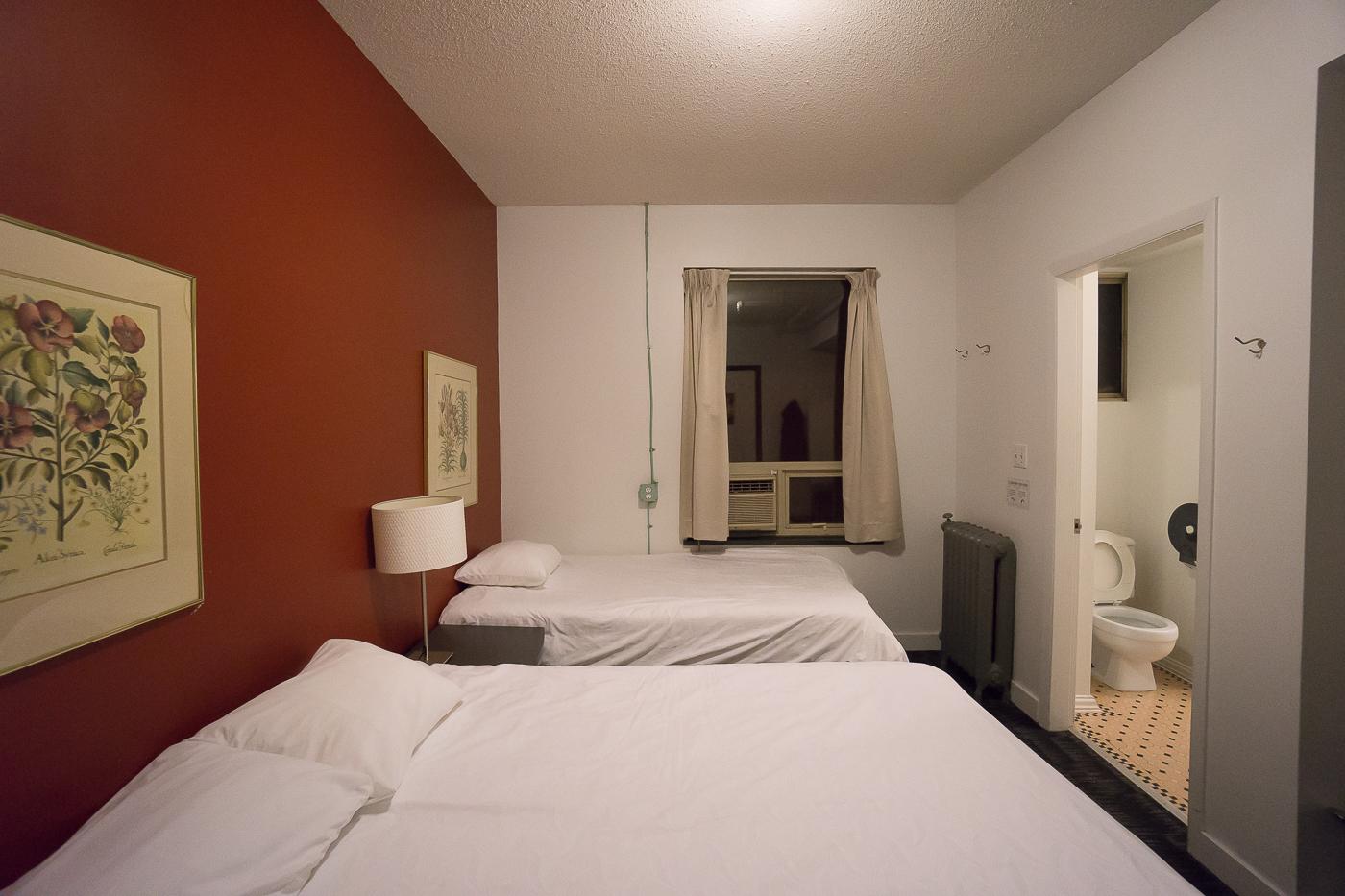Chambre 2 lits au HI Vancouver Central - Quelle auberge choisir