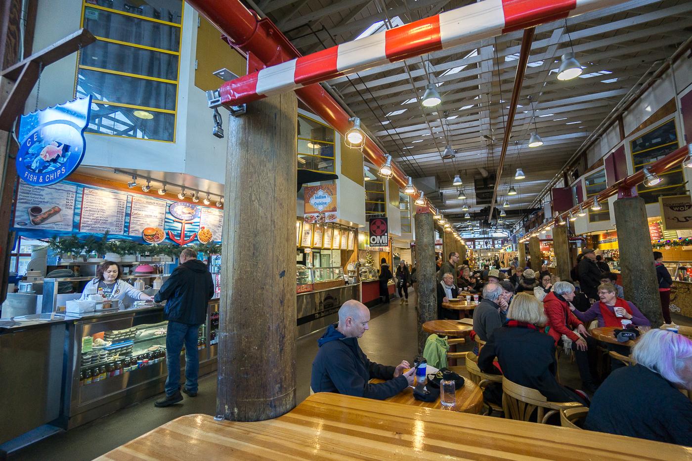 Granville Island Market - Vancouver pas cher