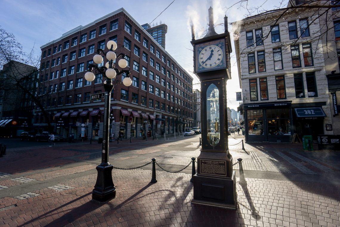 Horloge de quartier Gastown - Quoi voir à Vancouver