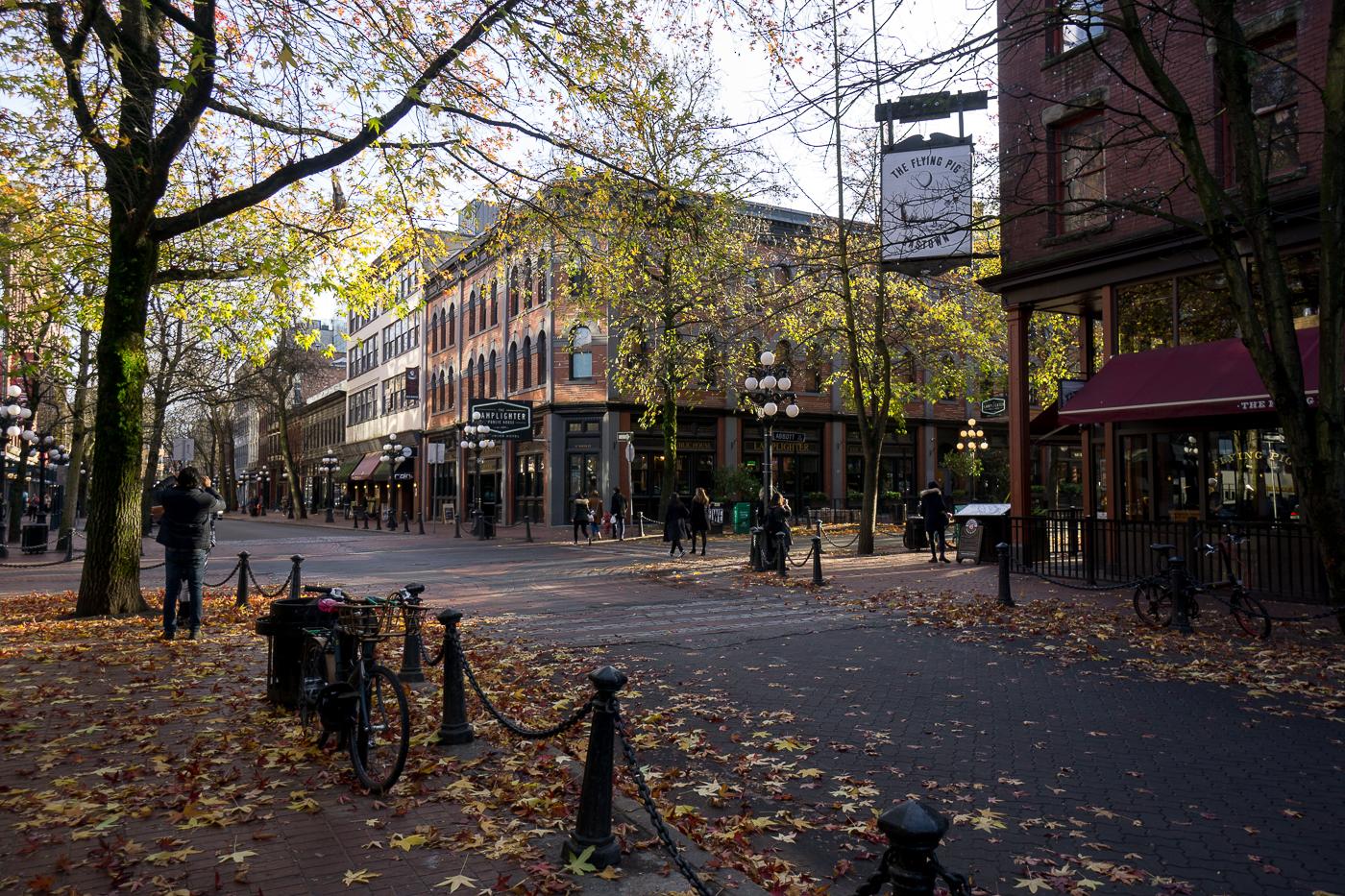 rue de Gastown à voir à Vancouver