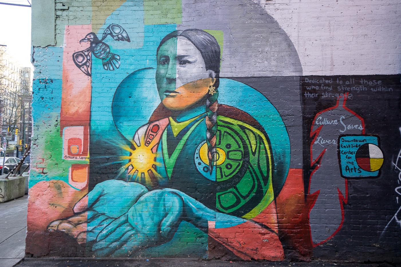 Street art quoi faire à Vancouver à petit budgeta