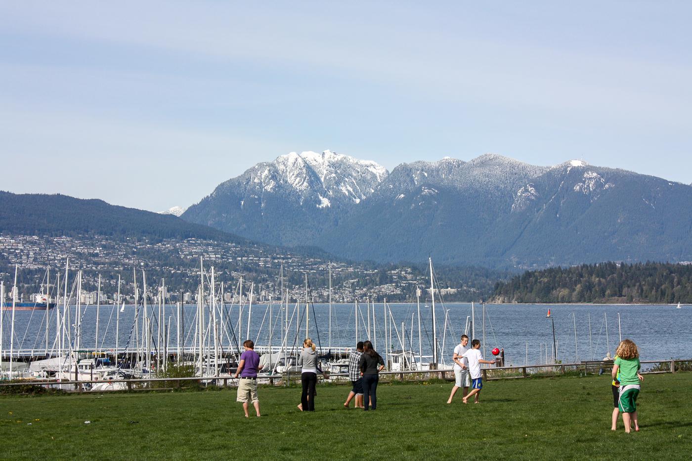 Vue de Jericho Beach, Vancouver