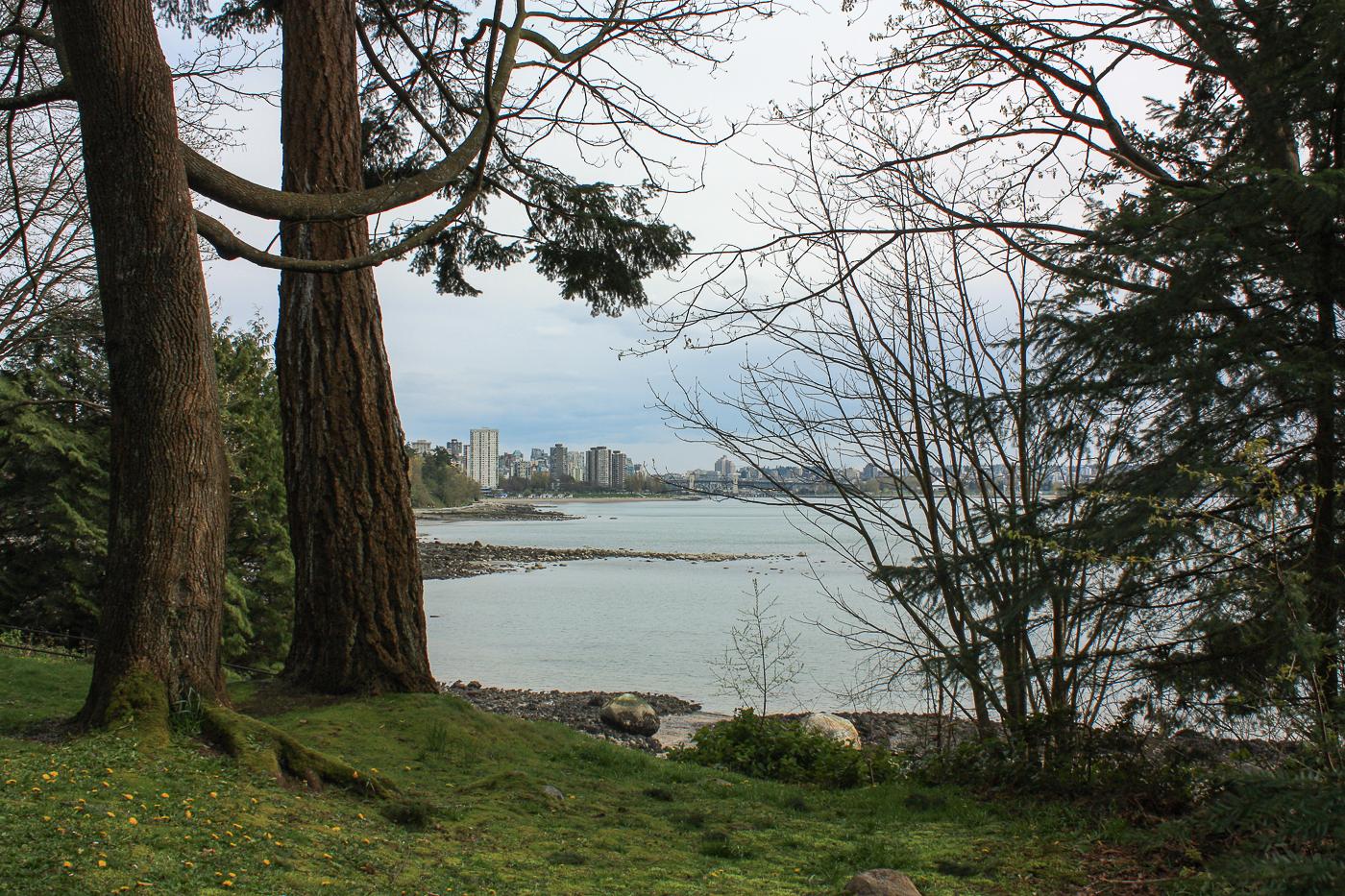 Vue de Stanley Park - Voyage à Vancouver