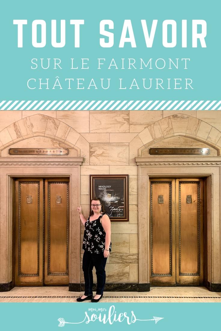 Week-end au Fairmont Château Laurier - Hébergement insolite au Canada