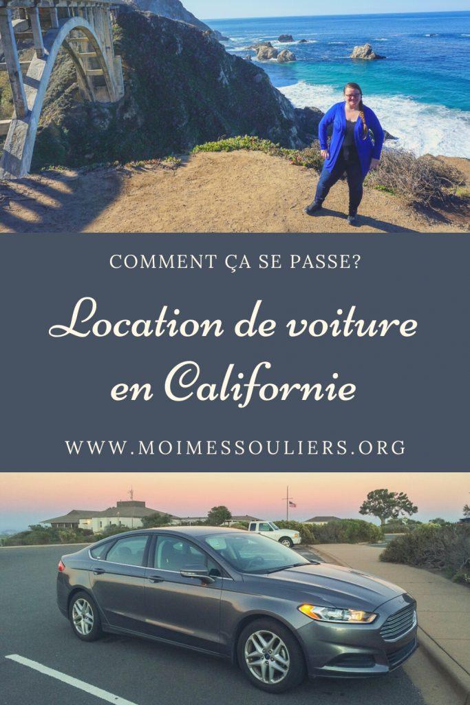 Location de voiture en Californie, États-Unis