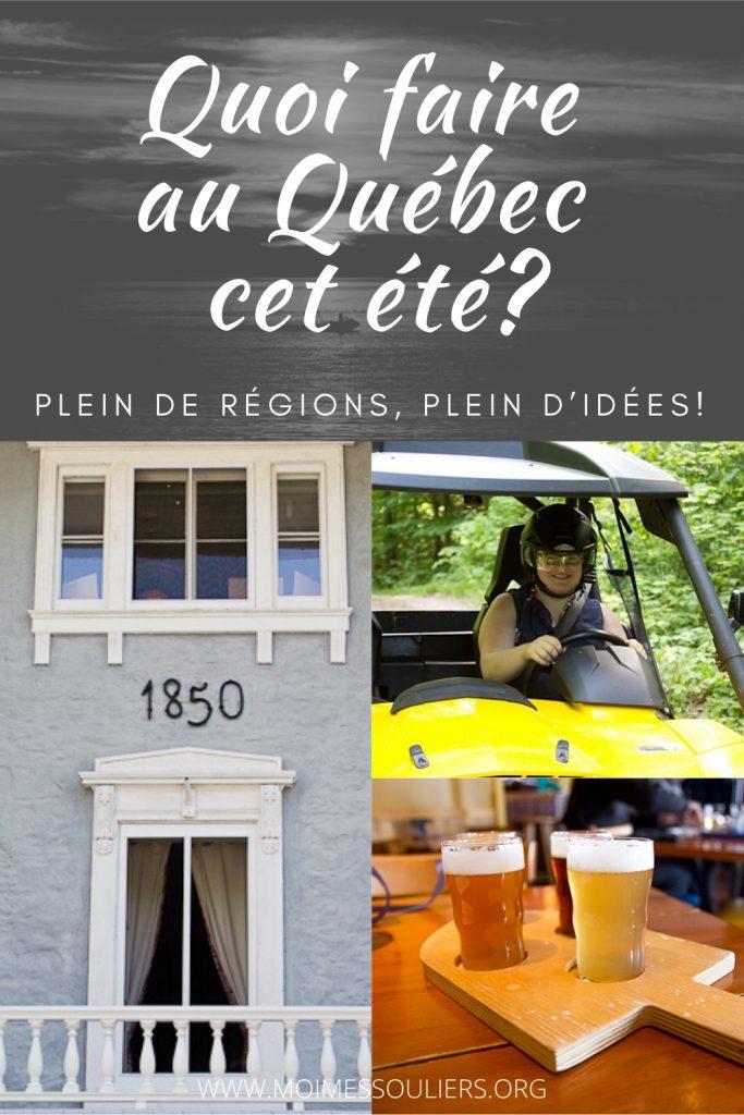 Quoi faire cet été au Québec - Idées par région