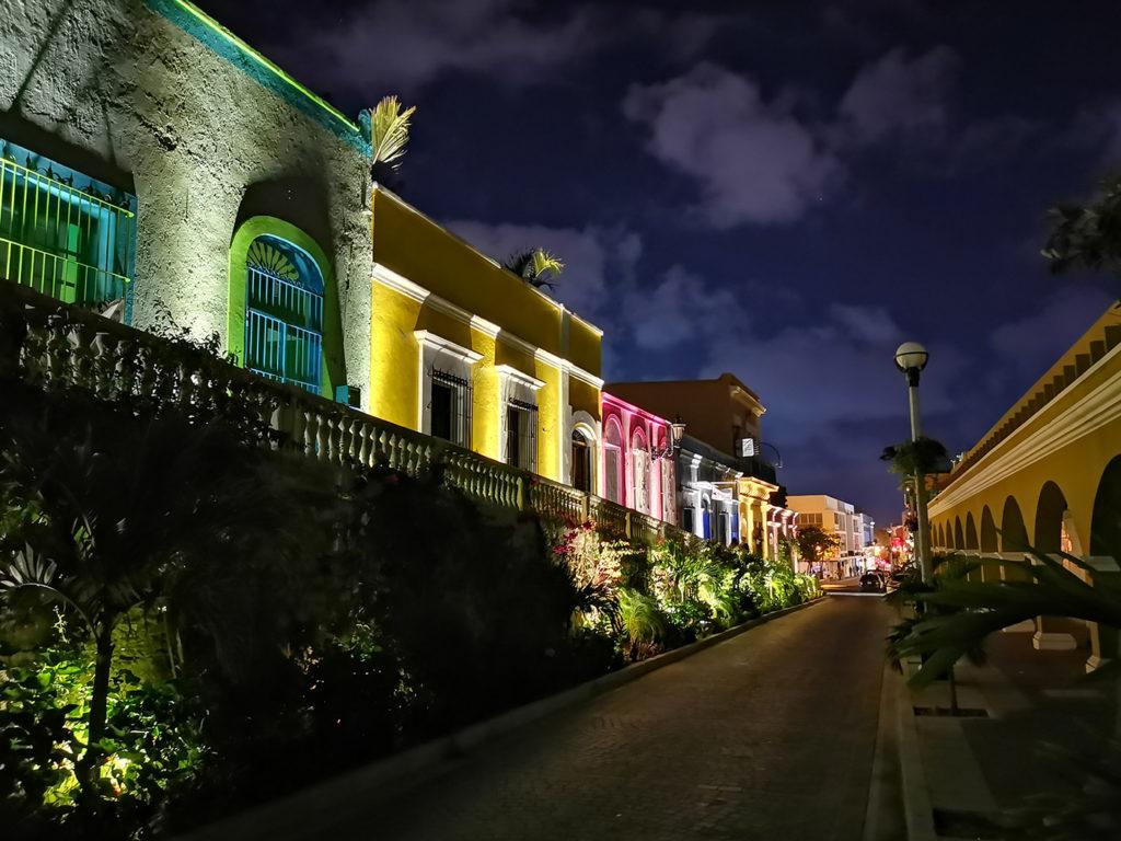 Centre historique de Mazatlán au Mexique