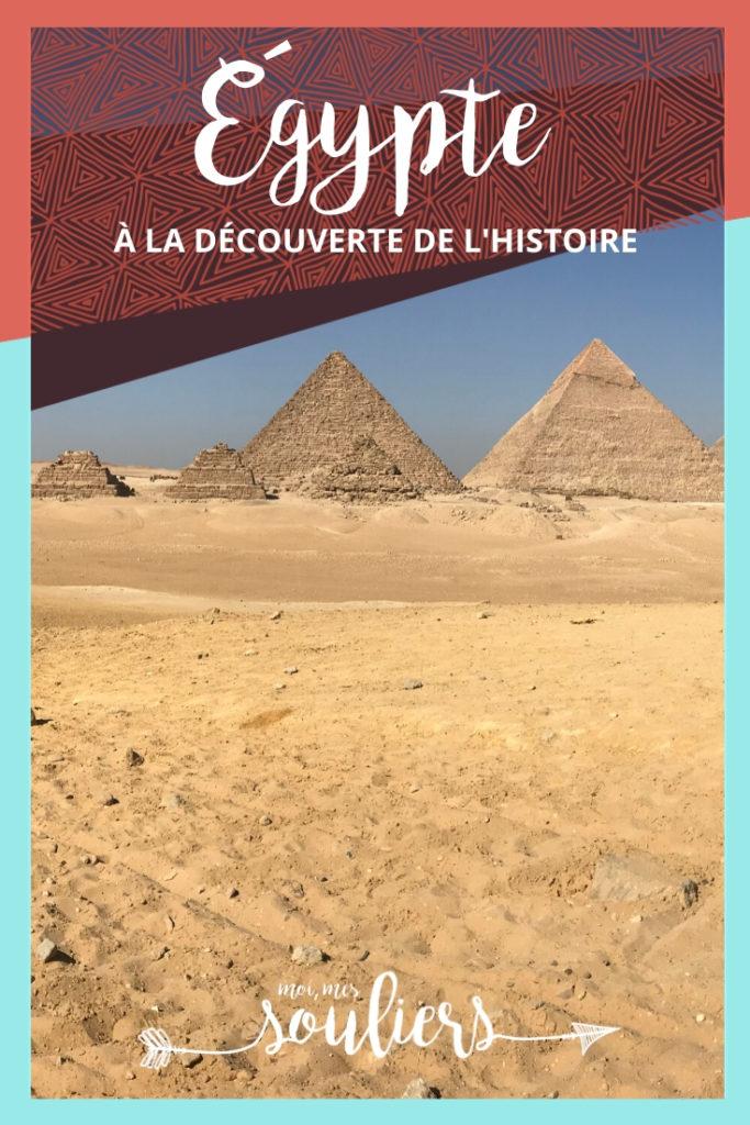 À la découverte de l'histoire de l'Égypte