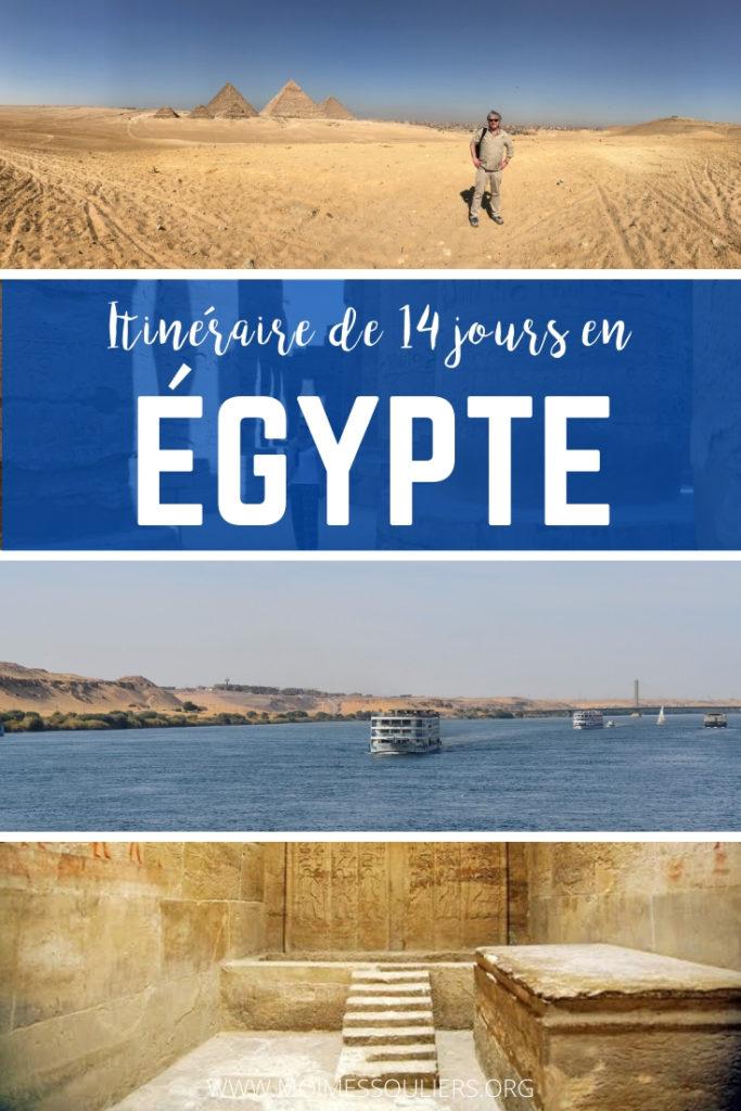 Itinéraire de 14 jours en Égypte