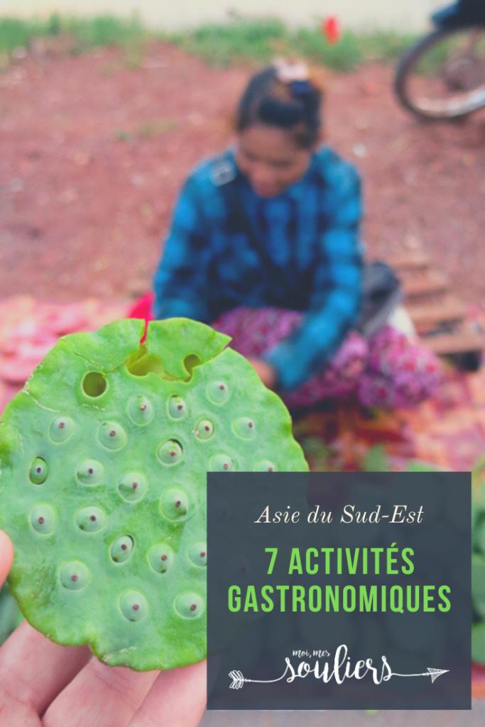 7 activités gastronomiques en Asie du Sud-Est