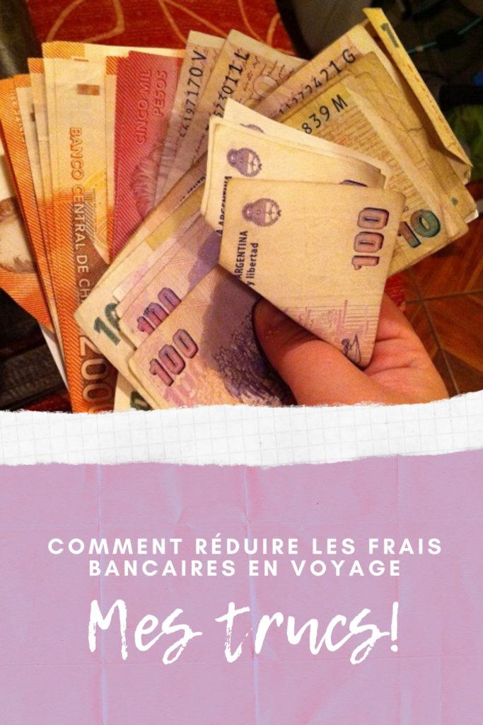 Trucs pour réduire les frais bancaires en voyage