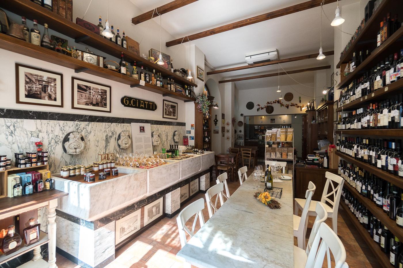La Divina Enoteca - Où boire du vin - Florence, Italie