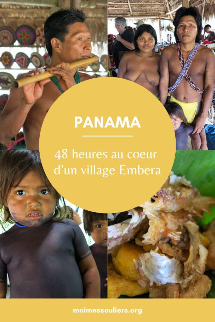 48 heures au coeur d'un village Embera au Panama