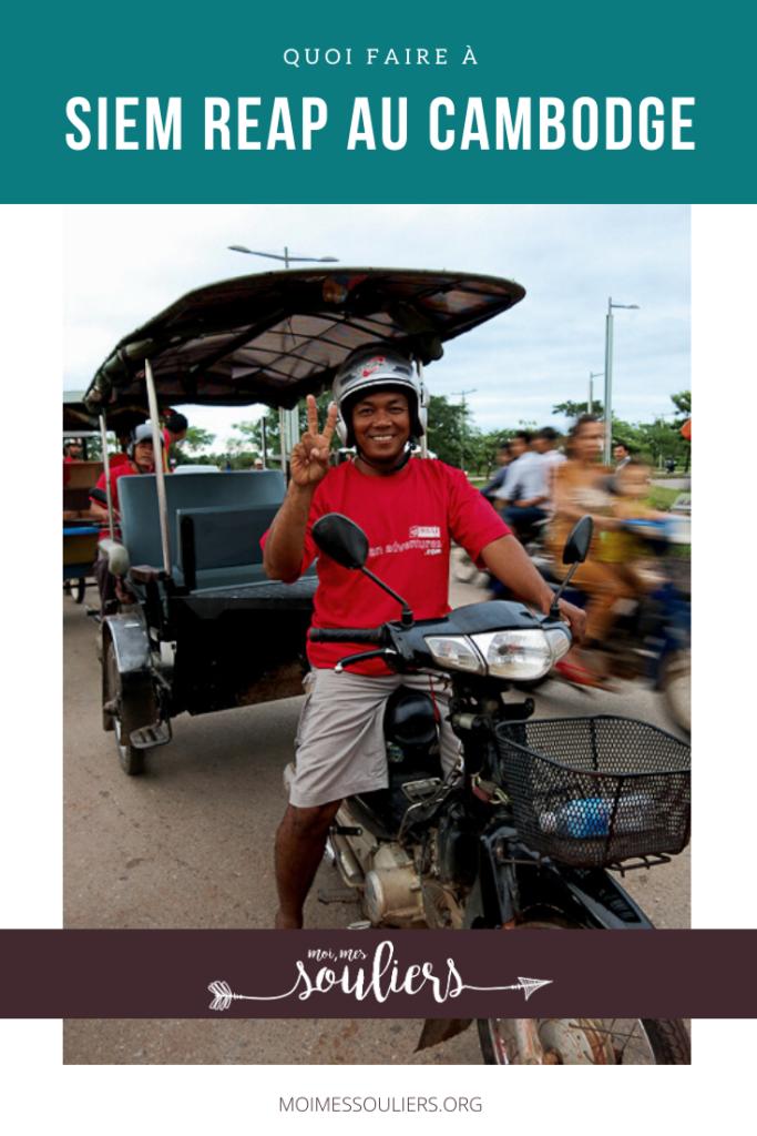 Quoi faire à Siem Reap au Cambodge