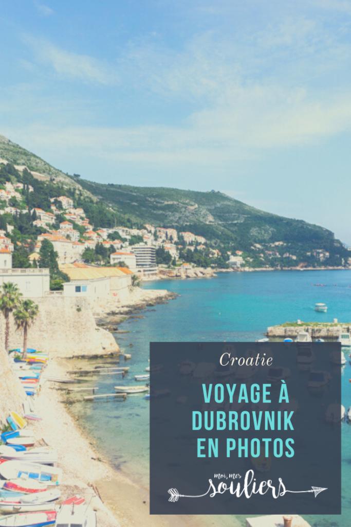 Voyage à Dubrovnik en Croatie