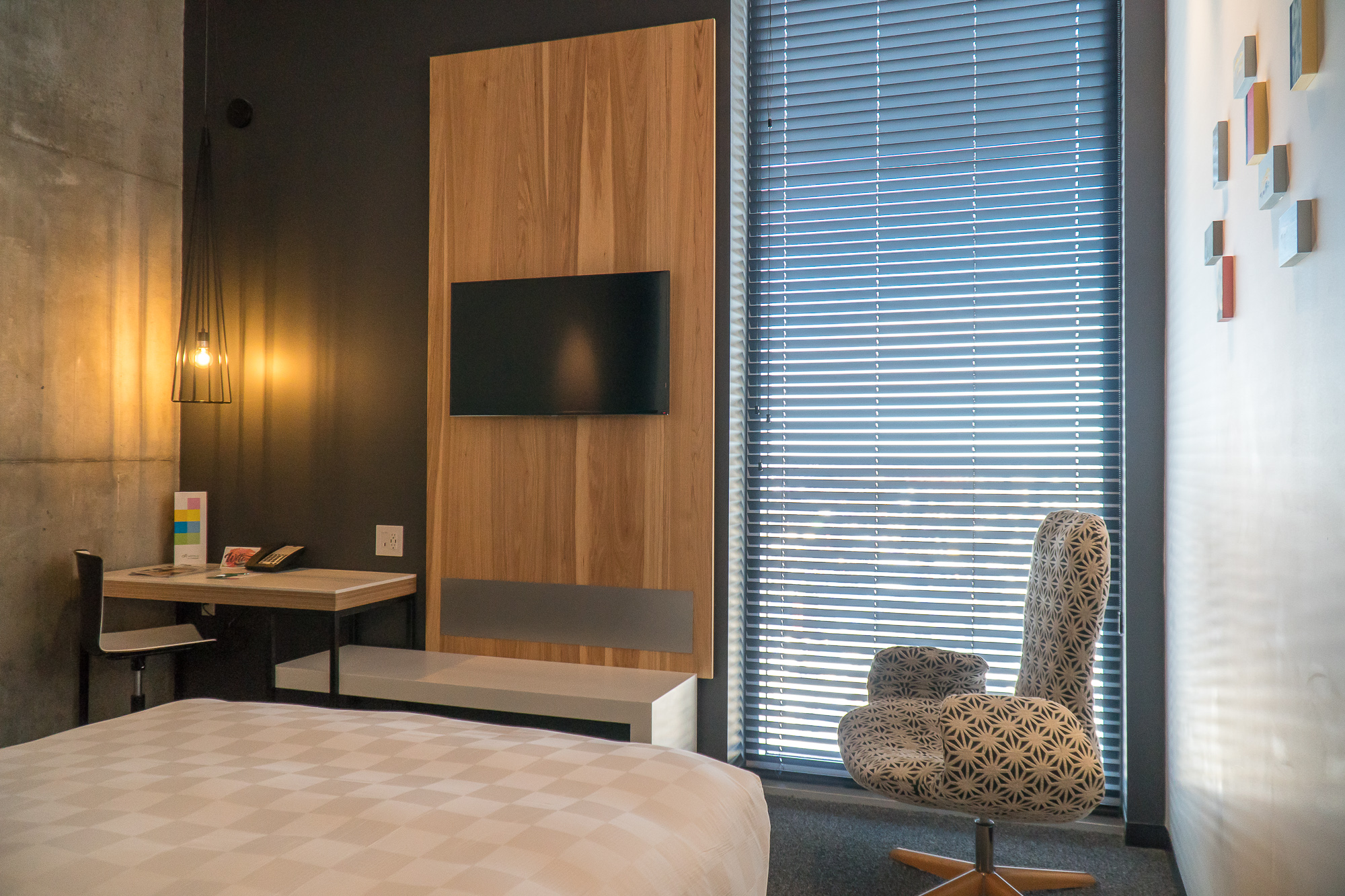 Chambre et vue du Alt Hotel Winnipeg