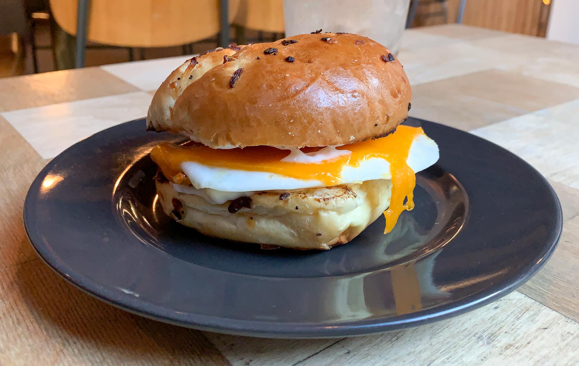 Sandwich-déjeuner brunch à Winnipeg au Forth Café