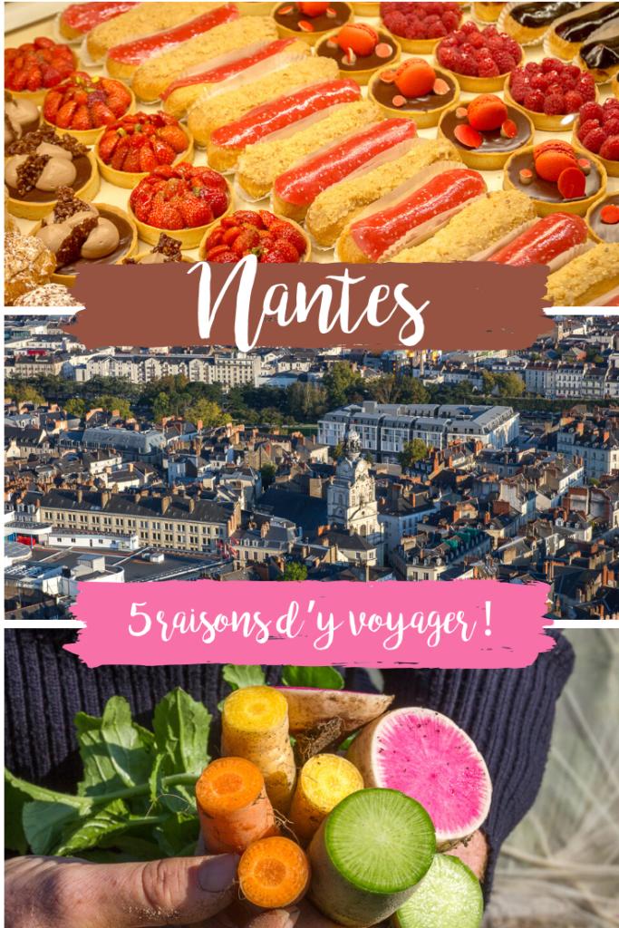 5 raisons de voyager à Nantes