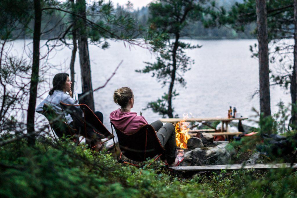 Canot-camping - îles aux Fraises - Abitibi-Témiscamingue