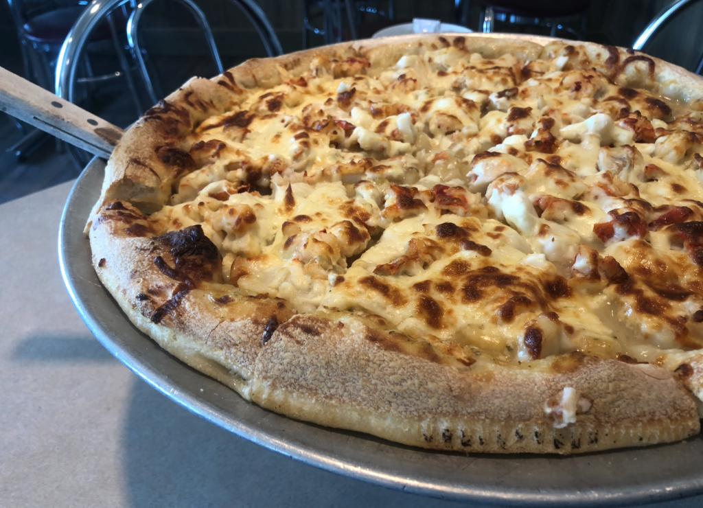 Pizza aux fruits de mer Decker Boy