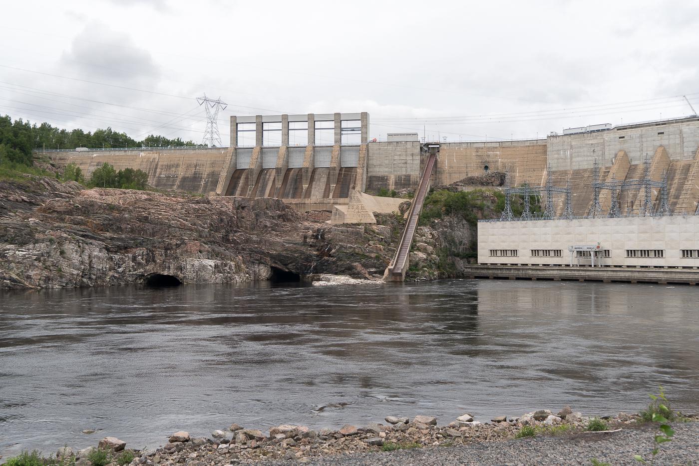 Barrage hydroélectrique Manic-2