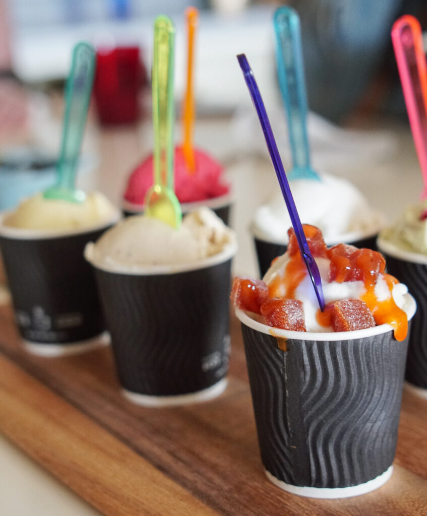 gelato au Pied-de-Vent chez Gourmande de nature