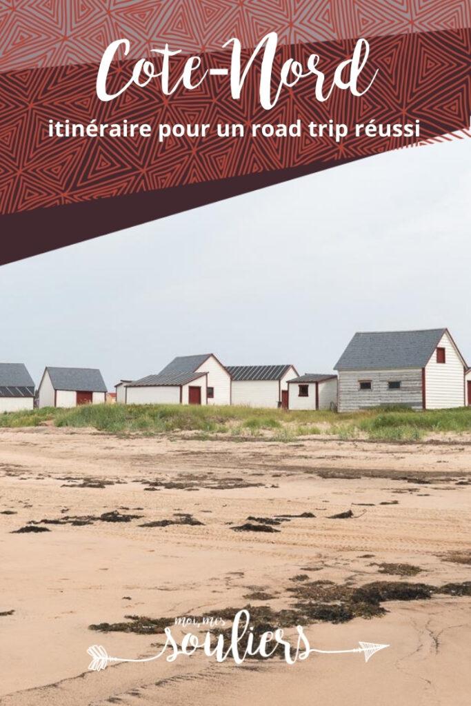 Itinéraire de road trip Côte-Nord, Québec, Canada