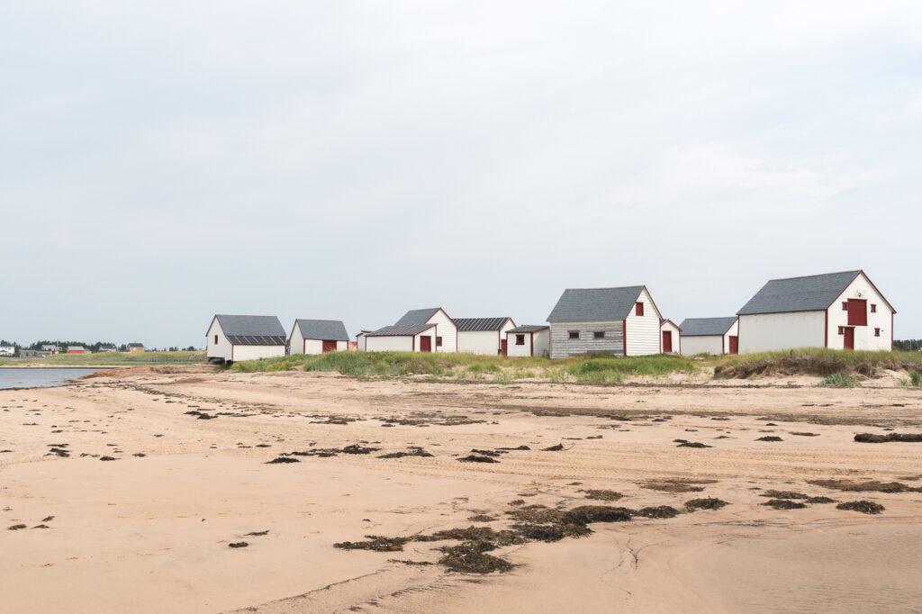 Les galets sur la plage - quoi faire à Natashquan