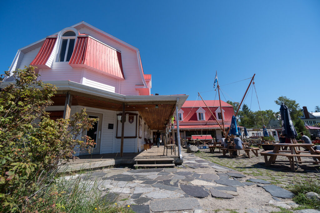 Maison Majorique - aubege de jeunesse de Tadoussac, Québec