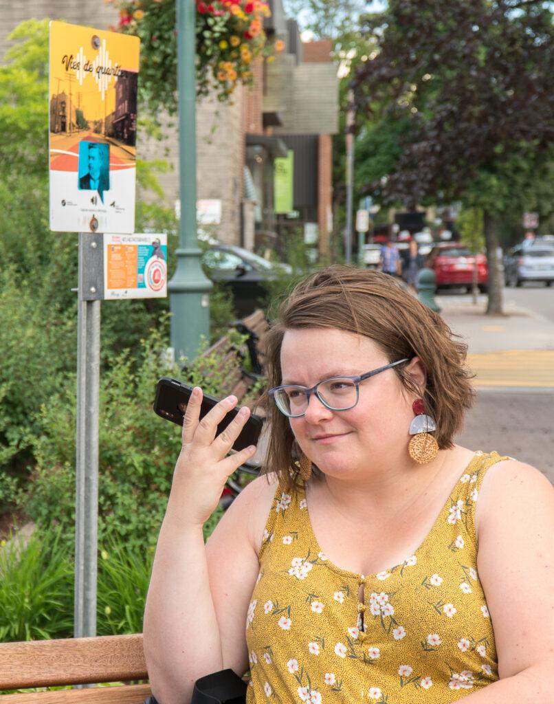 Balado Vies de quartier - Jennifer sur la rue Lafontaine