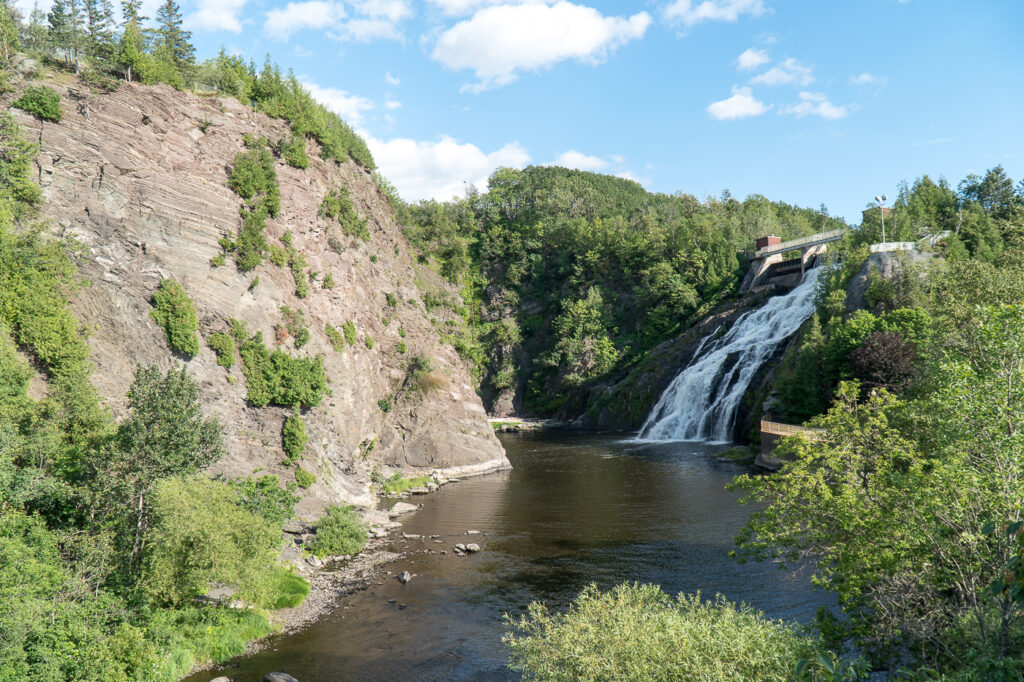 cascades du parc des Chutes de Rivière-du-Loup