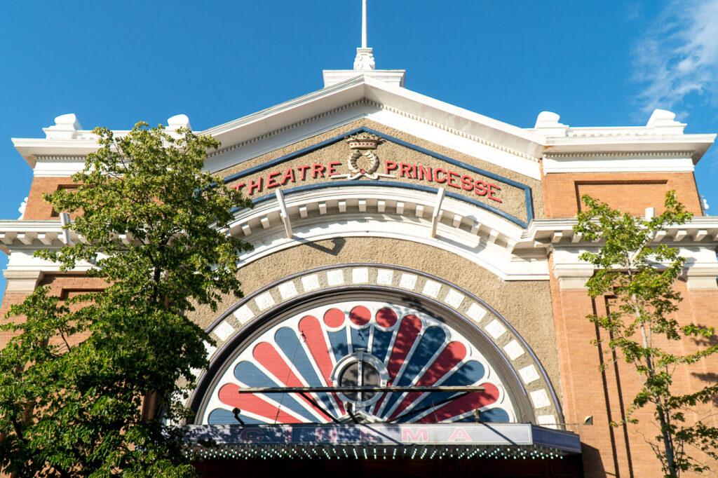 devanture façade du cinéma Princesse de RDL