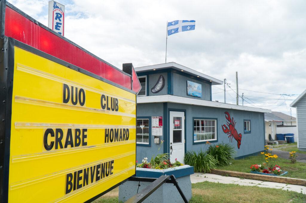 extérieur du resto Au Boucaneux Rivière-du-Loup