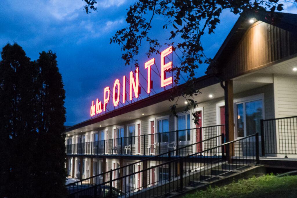 Hôtel Auberge de la pointe où dormir à Rivière-du-Loup