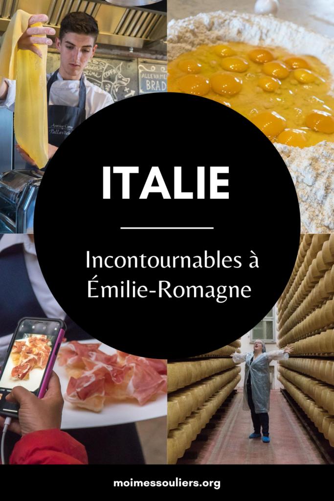 Incontournables à Émilie-Romagne en Italie