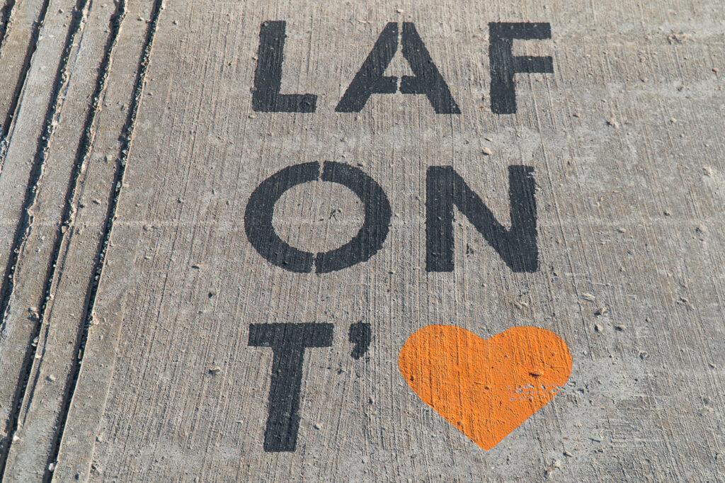 Lafont'aime street art à Rivière-du-Loup