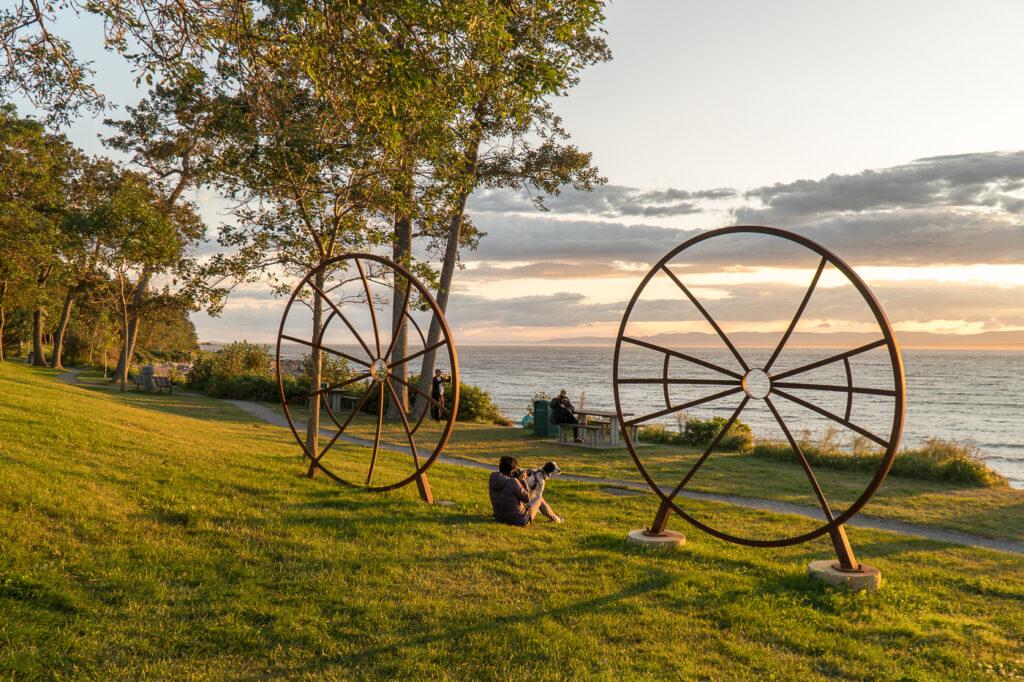 Où voir le coucher de soleil à Rivière-du-Loup