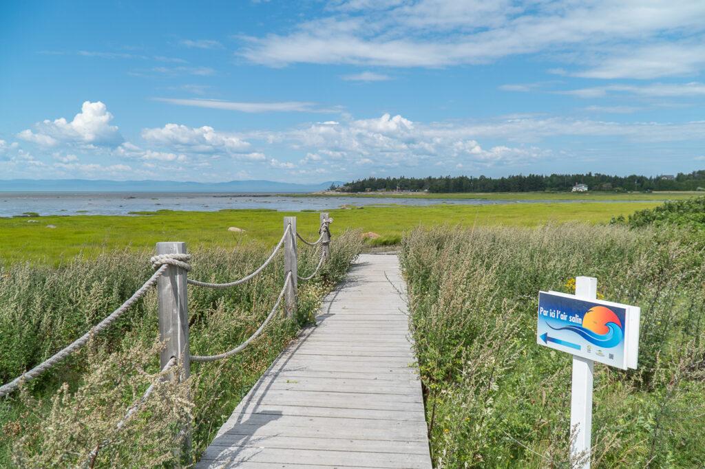 passerelle de plage Notre-Dame-du-Portage
