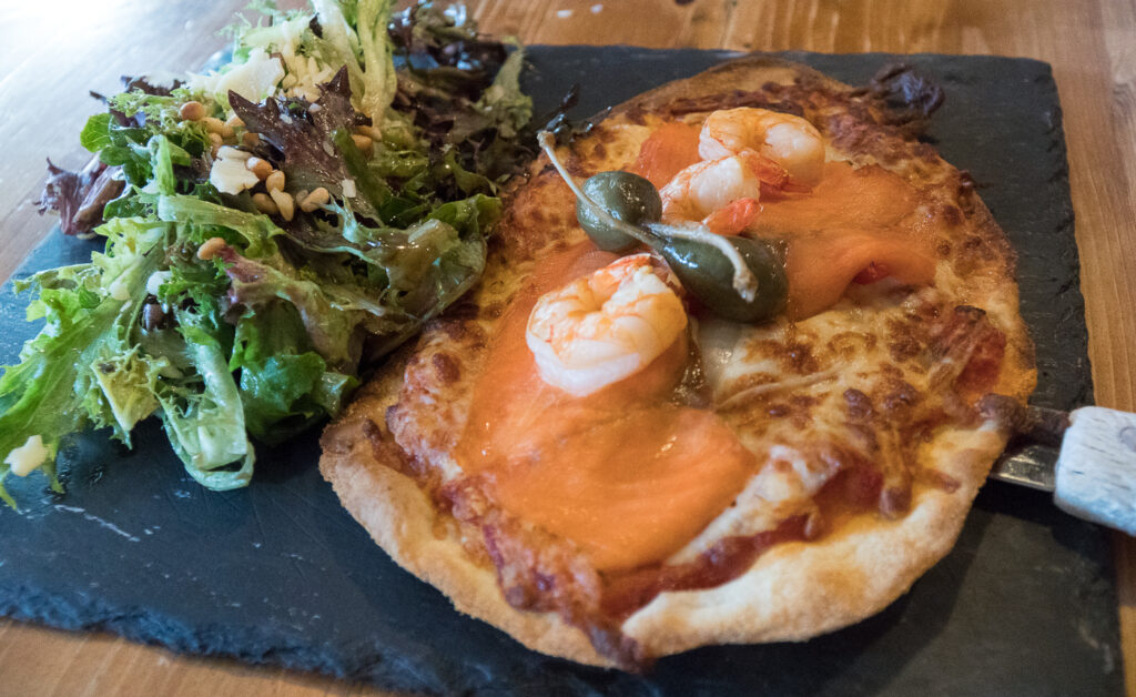 Pizza au resto L'Estaminet